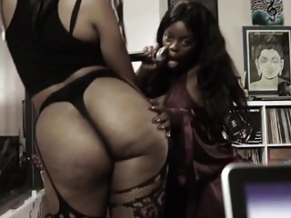 Lesbians Bisexuals Striptease video: The Lavaa sexy twerk video