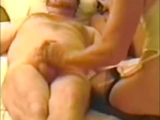 Milfs Amateur Handjobs video: cuckold hotel wank for three