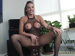 Real Cuckold Video: I will train you to be my cuckold slave boy