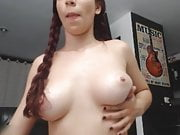 Cute Cam Girl Playing With Omnibod