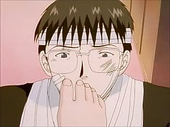 Anime scene di culto del piede GTO