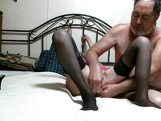 Milfs Grannies Sex Toys video: GRANNY LUCY FIVE