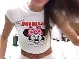 Hot European girl on webcam