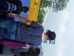Indische Arsch Jeans Gand