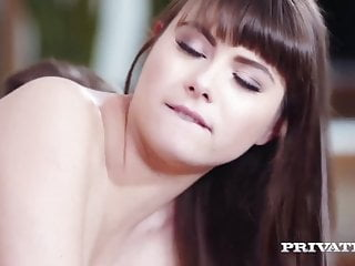 Anal Hairy porno: Private.com - Teen Luna Rival Double Fucked By 2 Cocks!