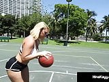 PAWG Nina Kayy Fucks Big Black Cock BasketBall Coach!