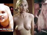 Emilia Clarke Nude Tits-Khaleesi Fucked-Game of Thrones