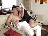 Beautiful mature mom licked and fucked by daddy