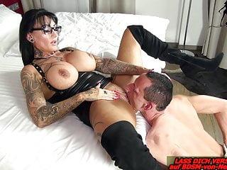 Amateur Bdsm Femdom video: German big tits domina REAL FEMALE ORGASM from BDSM slave