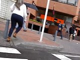 Ass in the street 1