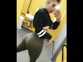 Softcore Latex Teen vid: Blonde Teen Chav with Huge Ass Compilation!