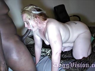Milfs Group Sex Interracial video: Big Butt Redhead Neighbor Back for More
