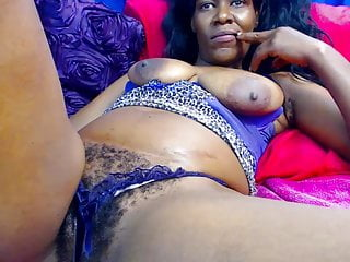 Black Big Tits Big Ass video: Sexy Mature Ebony African Mama Hairy Pussy and Saggy Boobs