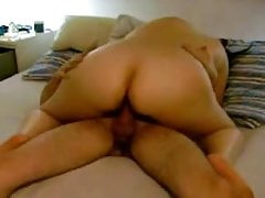 Cheating mother riding my cock