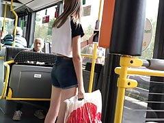 Teen in Bus