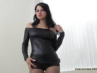 Femdom Blowjob Cumshot video: I will make you so hard before we get started CEI