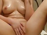 Plaisir douche masturbation  orgasme