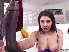 Valentina Nappi macht Analsex mit Big Black Cock