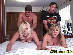 Ms Paris e Her Taboo Tales-family Orgy