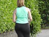 Same sportiv girl big ass running