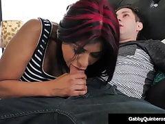MexiMilf Gabby Quinteros Fucks Her Cock Step Son!