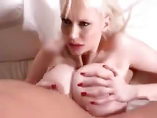 .Busty Blonde Takes Young Cock In The Ass.