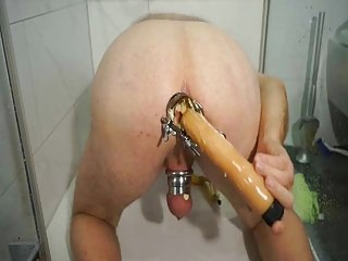 porno zadarmo - Filling my honry hole with Bananas and tomatoes