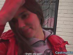 Smalltits Babe schlug beim falschen Casting