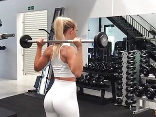 Big Tits Big Ass Milf video: Booty mom hot fitness