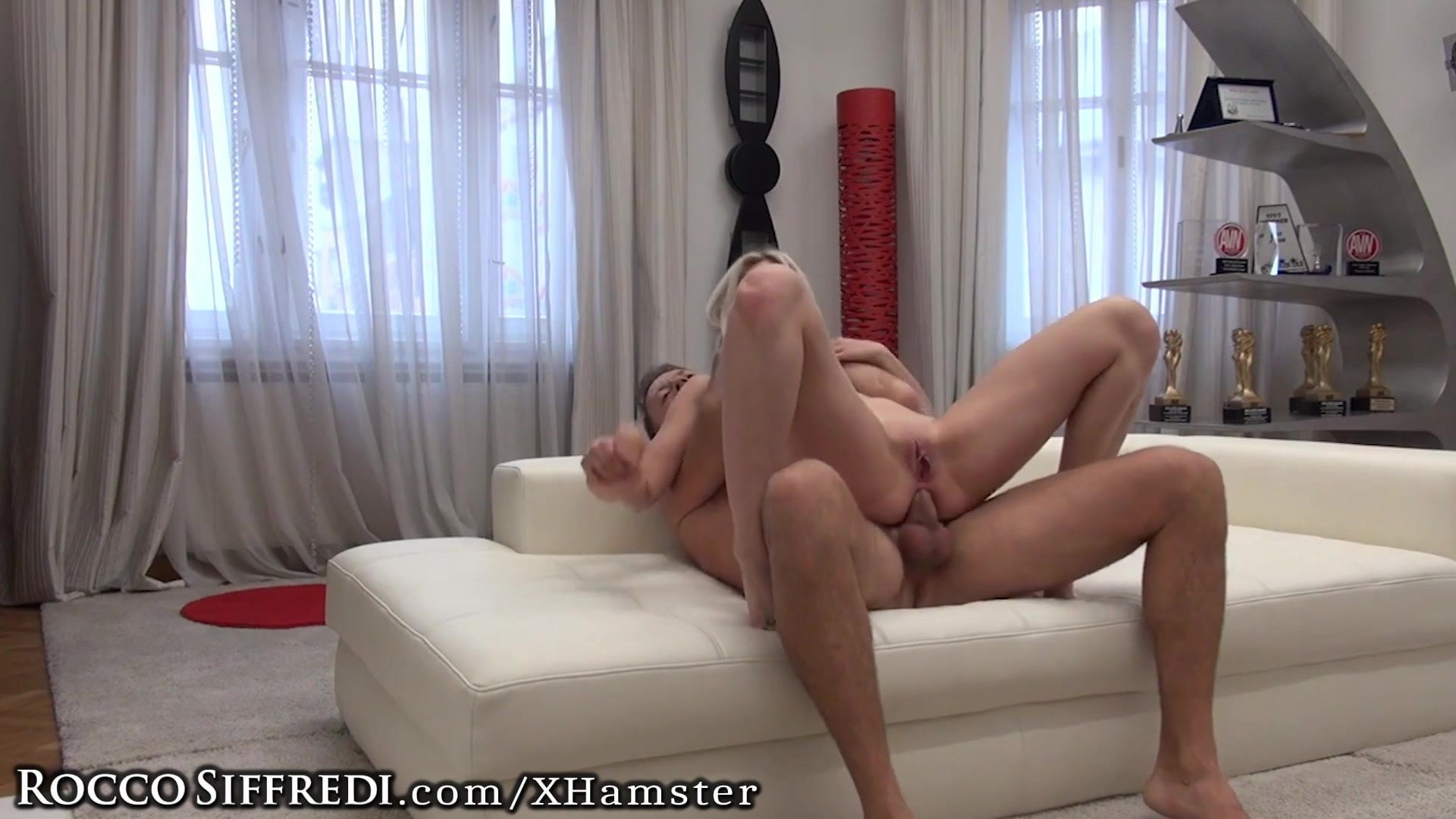 .Rocco Siffredi's Cock in Amateur Teen Ass & Dildo DP's.