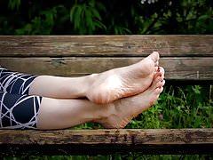 Nohy 019 - odkapávání oleje