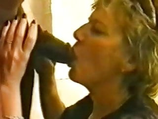 Matures Amateur Big Ass video: This horny White Granny is insatiable for black dick