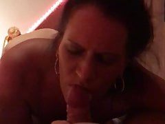 German Whore Sucking And Swallowing Cum
