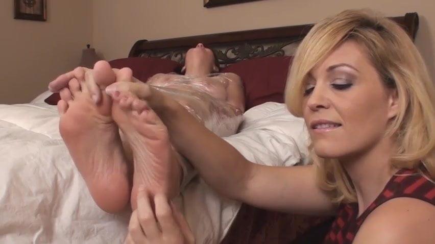 Lesbian Foot Worship Blonde