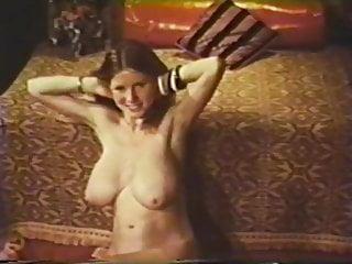 Vintage Striptease Blue video: Blue Vanities #519