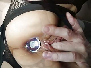 First time butt plug