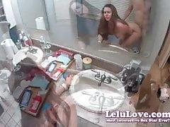 Lelu Láska-POV Stálý Doggystyle a koupelna Counter Sex