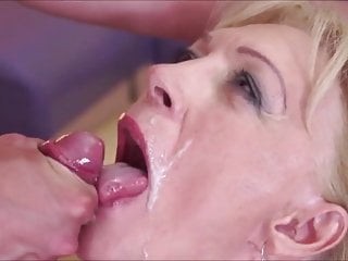 Facial Mature Compilation video: Mother Fucking Facials 23 Grannies