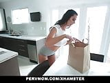 PervMom - Horny stepmom seduced and fucked stepson