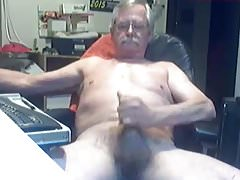 Grandpa ejaculate on webcam | Porn-Update.com