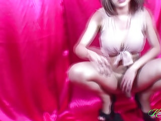 Hd Videos Shemale Porn Shemale xxx: Hung Tranny Karla Carrillo in panties