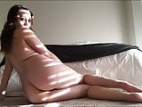 Busty Girl Masturbating in Bedroom