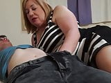Old moms cheat with young sons