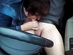 ssać w samochodzie