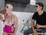BBC Slut Riley Nixon - Gloryhole