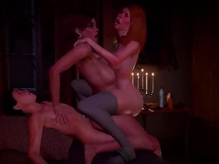 Step sister and seduced guy for sex 3d...