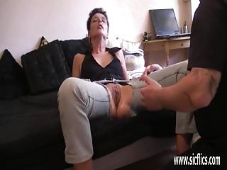 The wifes huge greedy pussy...