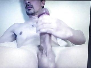 Huge hung mushroom head thick cock edging thick hard dick