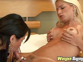 Big Tits Shemale Hd Videos Big Cock Shemale video: Sexy Dany De Castro and Alessandra Marques fucking