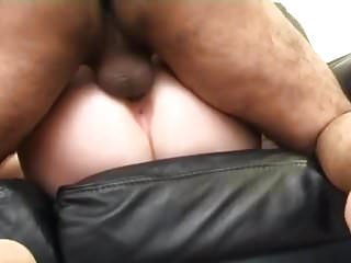 sexy british blonde has four guys at gangbang